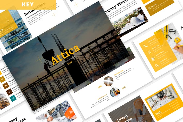 Thumbnail for Attica - Business Keynote Template