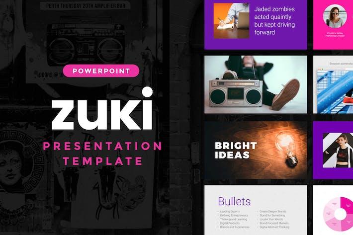 Thumbnail for Zuki — Powerpoint Presentation Template