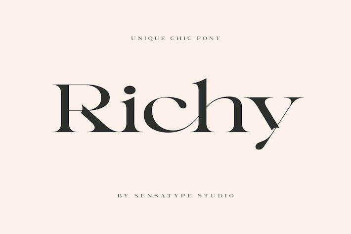 Richy - Police Chic Unique