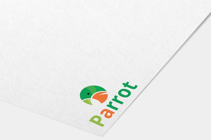 Thumbnail for Parrot Logo Template