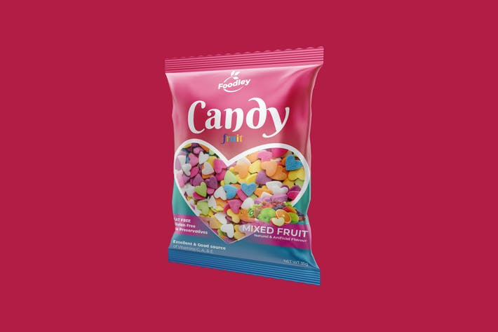 Thumbnail for Colorful Candy Plastic Packaging