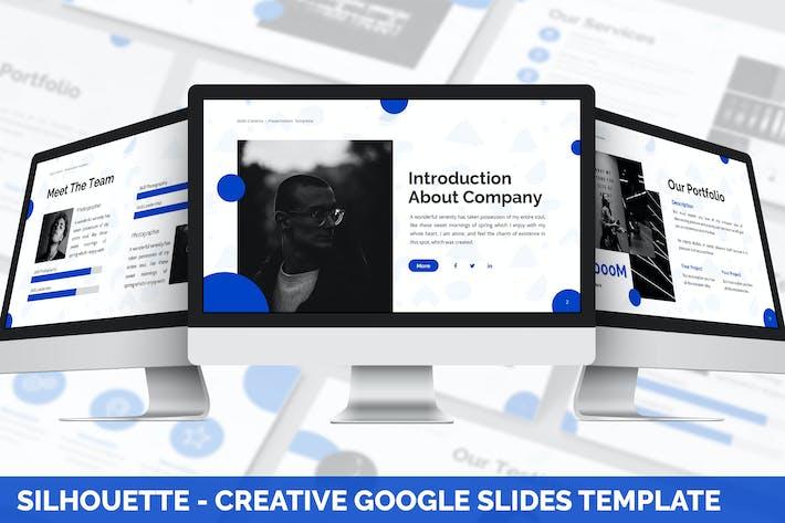 Thumbnail for Silhouette - Creative Google Slides Template
