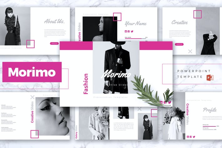 Cover Image For MORIMO - Fashion Powerpoint Template