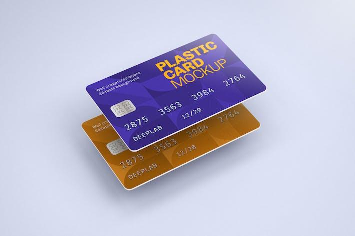 Thumbnail for Plastikkarte Mockup | Kreditkarte