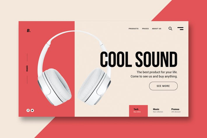 Thumbnail for Beat and Sound - Landing Page