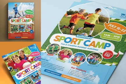 Sport Camp Flyer