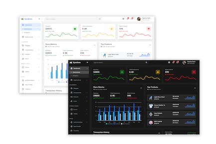 Syndron - Laravel 8 + Bootstrap 5 Admin Template