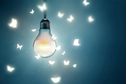 flying on light