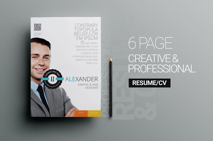 Cover Image For 6 page Personal Resume v1