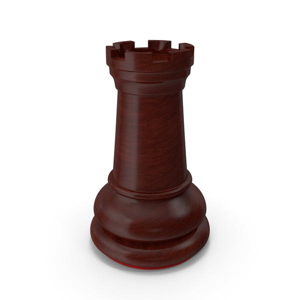 Башня Темно-красная