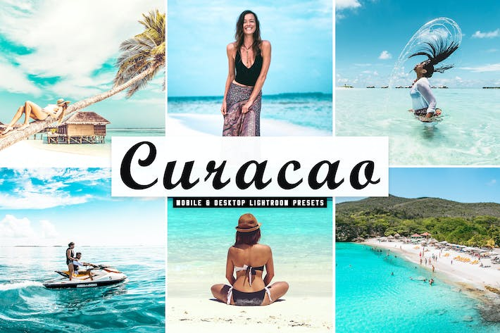 Thumbnail for Curacao Mobile & Desktop Lightroom Presets