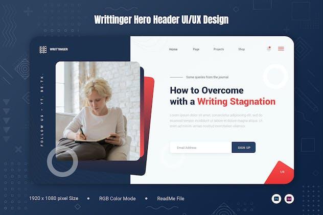 Writtinger Hero Header