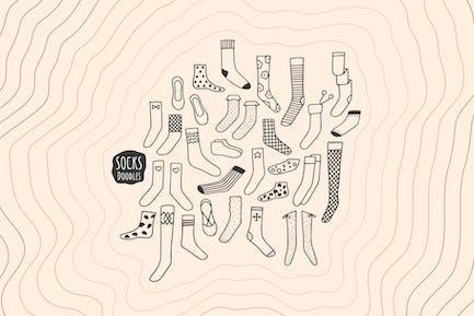 Socken Doodles