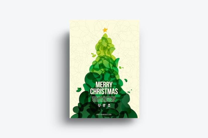 Thumbnail for Cool Abstract Christmas Flyer