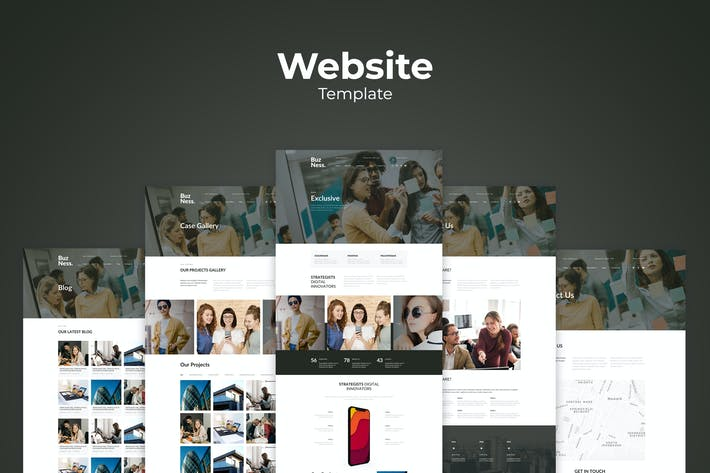 Thumbnail for Business Website Templates