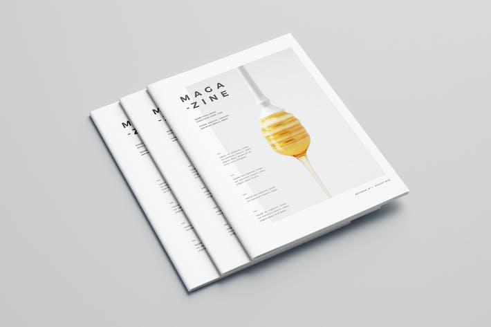Thumbnail for Minimal Cool White Magazine