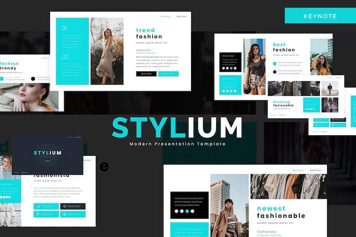Thumbnail for Stylium - Keynote Template