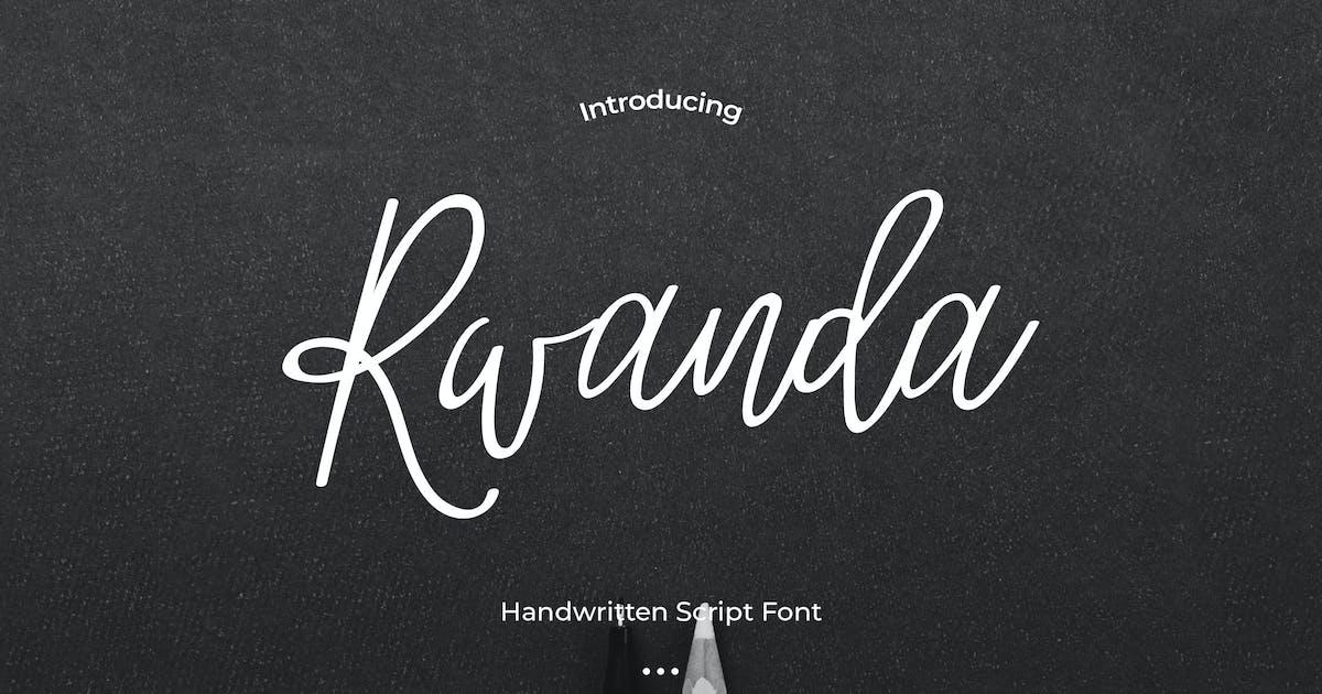 Download Rwanda - Handwritten Script Font by Justicon