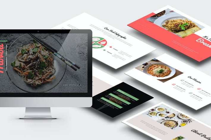 Thumbnail for Movoa : Pasta Restaurant Powerpoint