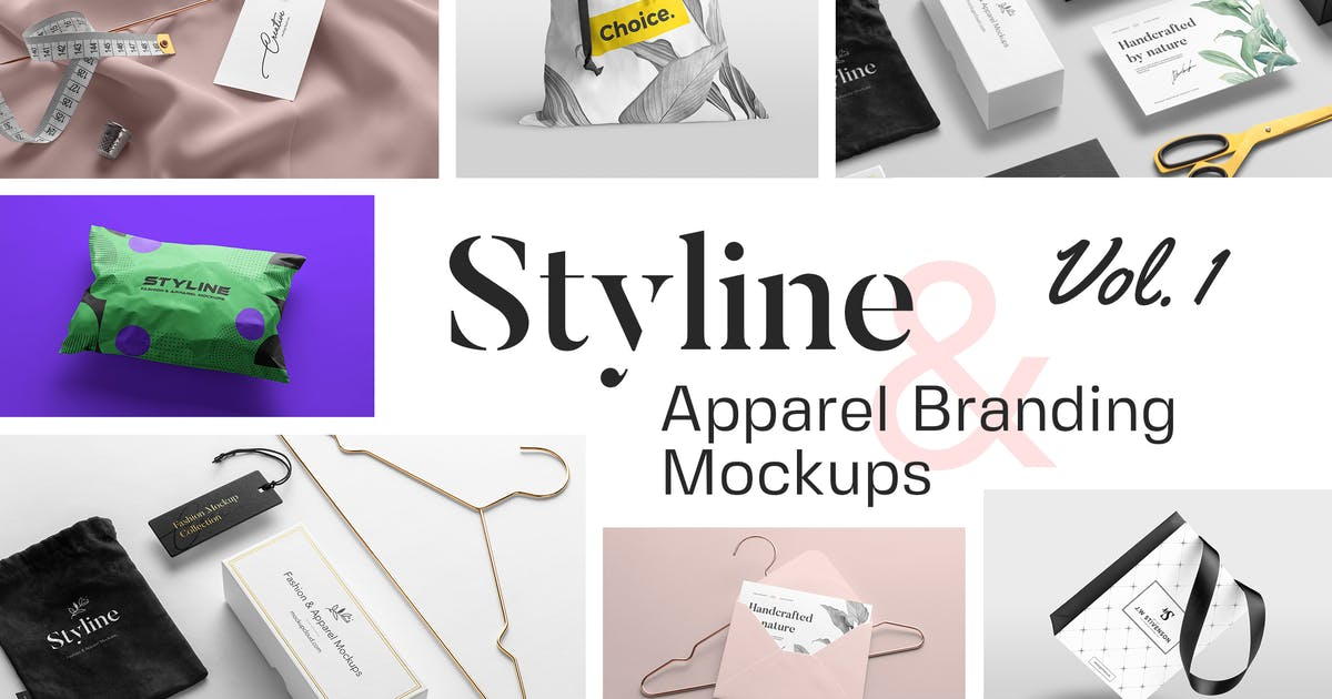 Download Styline – Fashion and Apparel Mockups vol 1 by Genetic96