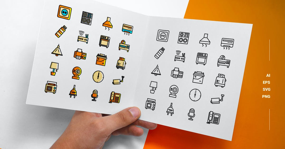 Download Electronic - Icons by esensifiksi