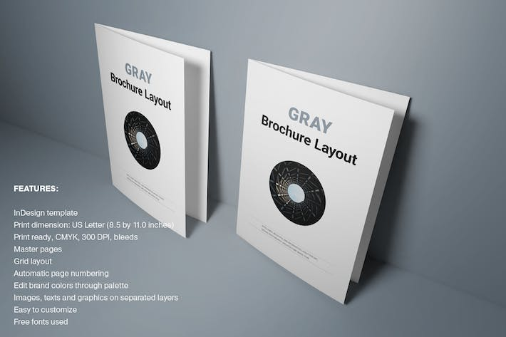Thumbnail for Gray Brochure