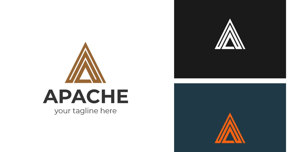 Download Apache A Letter Logo by sagesmask