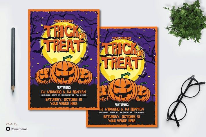 Thumbnail for Halloween Flyer vol.01 KF