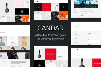 Candar - Freelancers & Agencies Responsive Theme