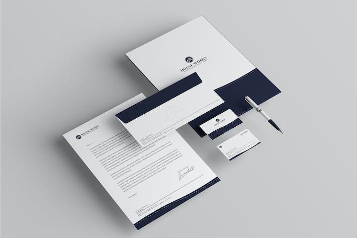 Thumbnail for House Branding Identity & Stationery Pack