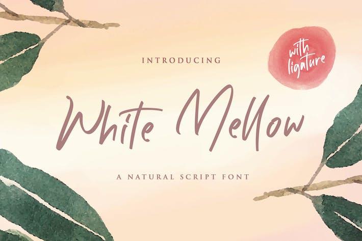 Thumbnail for White Mellow - Handwritten Script Font