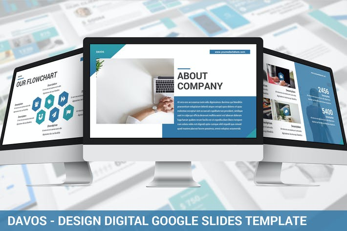 Thumbnail for Davos - Design Digital Google Slides Template