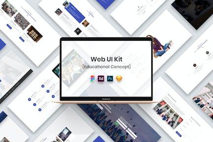 Kit d'interface utilisateur Web éducative