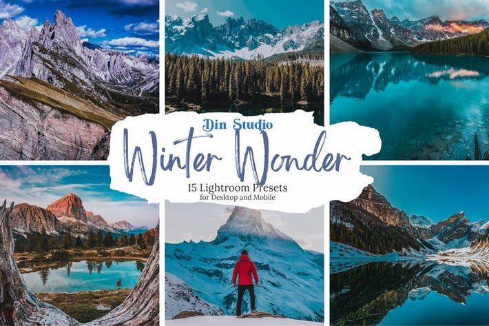 Thumbnail for Зимние пресеты Wonder Lightroom