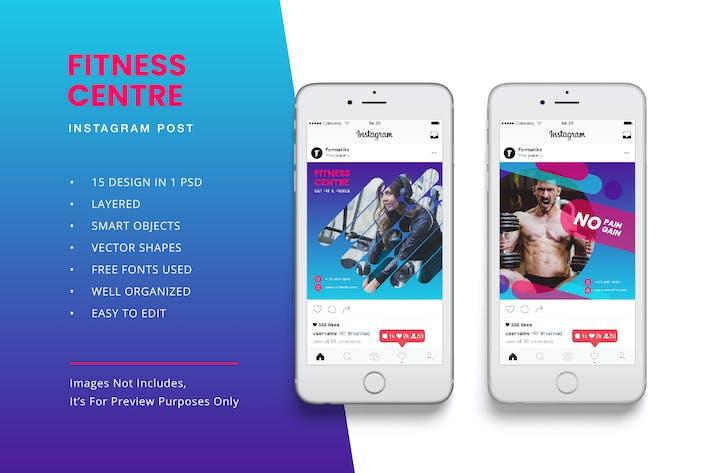 Thumbnail for bannière de Post Instagram Fitness
