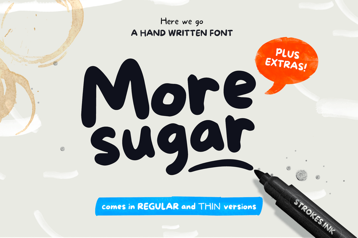 Thumbnail for More Sugar Font