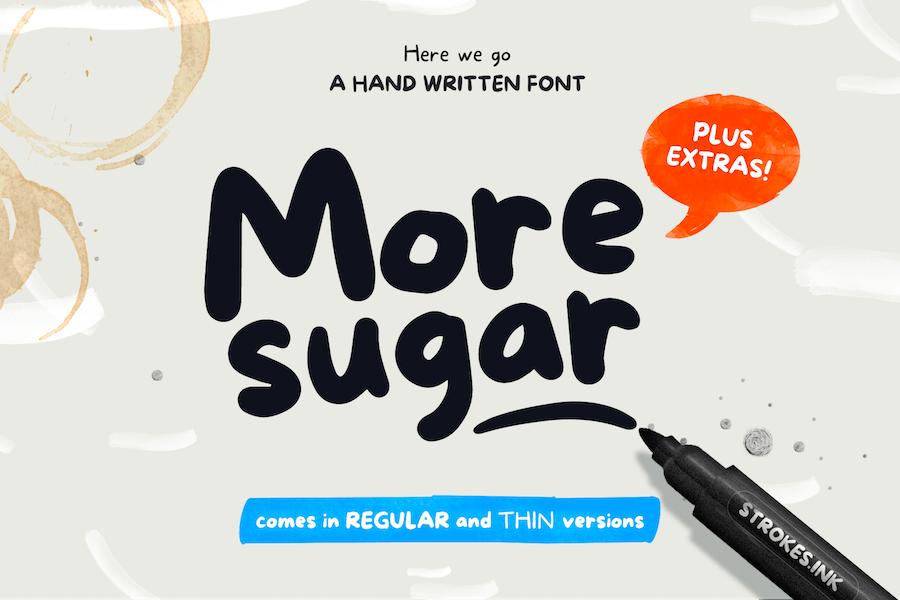 More Sugar Font