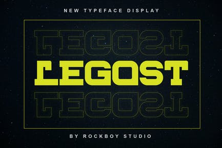 Legost - Logotype Font