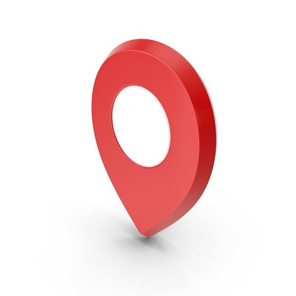 Travel Pin Symbol