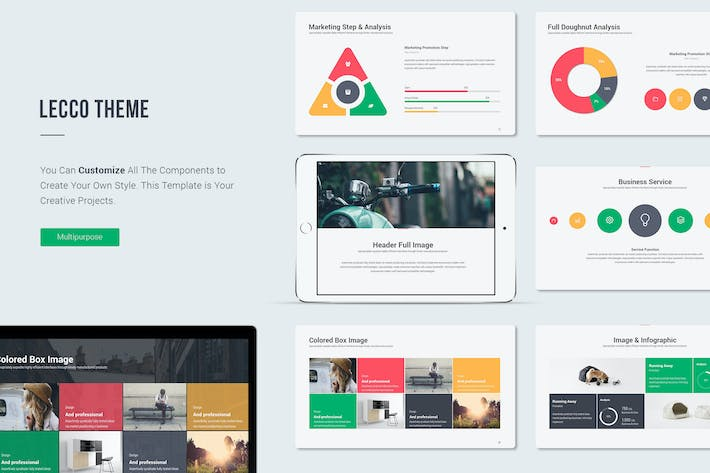 Cover Image For Lecco Creative Keynote Template