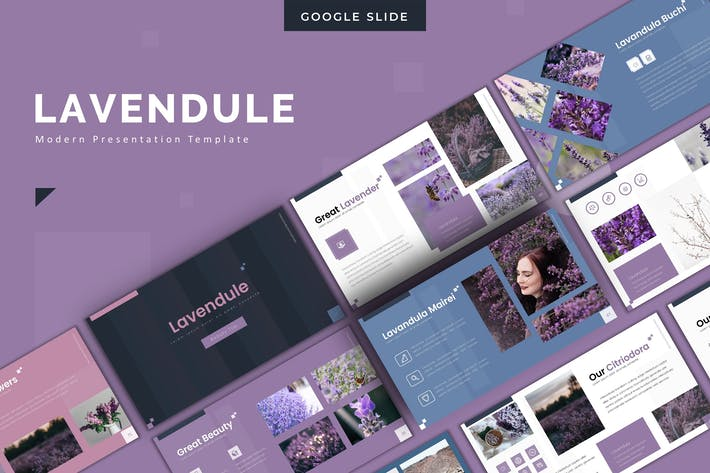 Thumbnail for Lavendule - Powerpoint Template