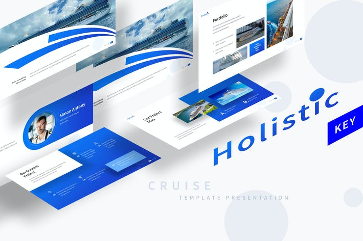 Thumbnail for Holistic - Logistic Keynote Template
