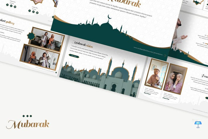 Thumbnail for Mubarak - Islamic Shop Keynote Template