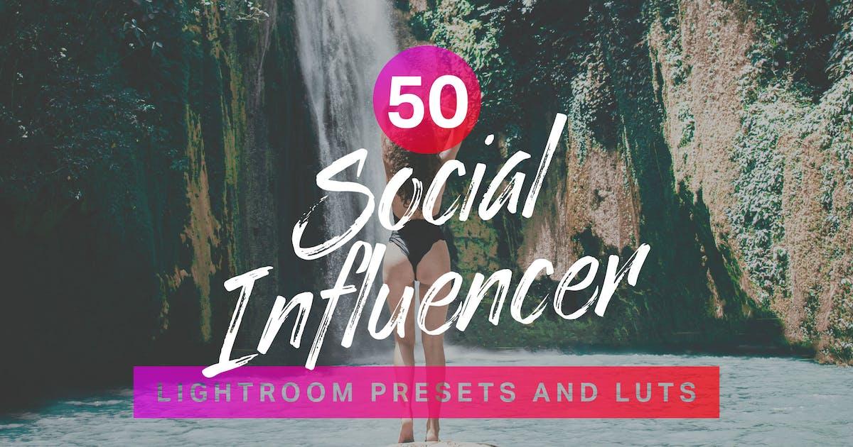 Download 50 Social Influencer Lightroom Presets LUTs by sparklestock