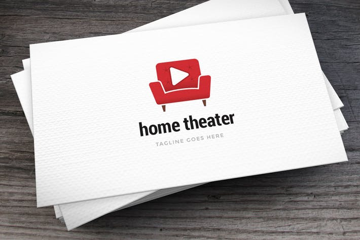 Thumbnail for Home Theater Logo Template