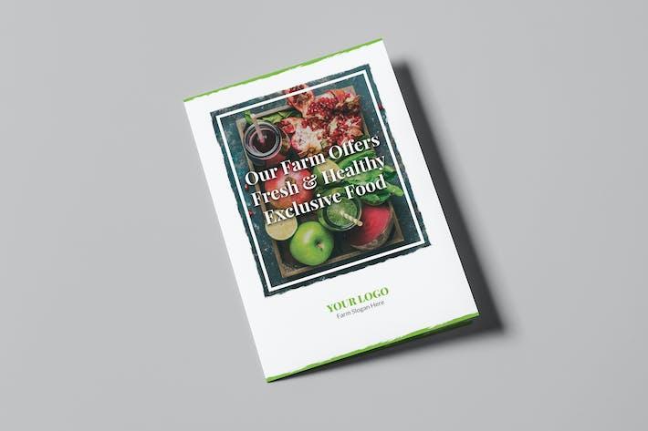 Thumbnail for Brochure – Organic Food Bi-Fold