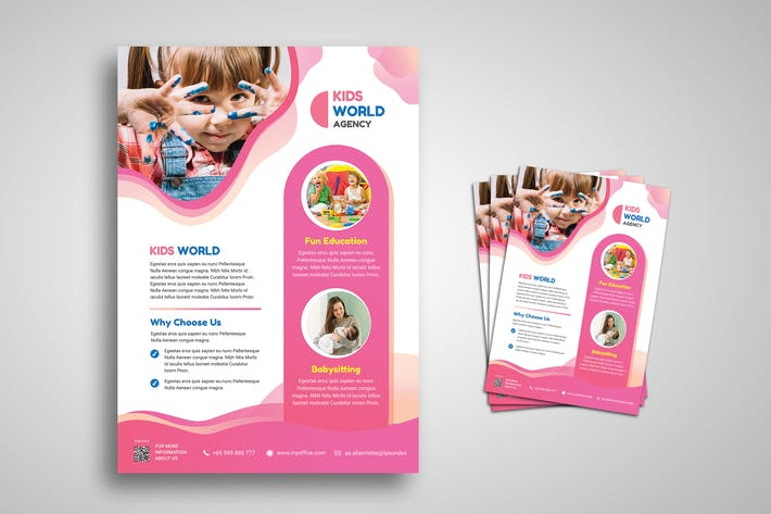 Thumbnail for Child Kids Promo Flyer