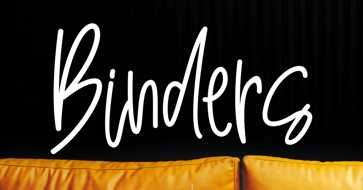 Download Binders Stylish Signature by aqrstudio
