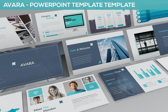 Thumbnail for Avara - Powerpoint Presentation Template