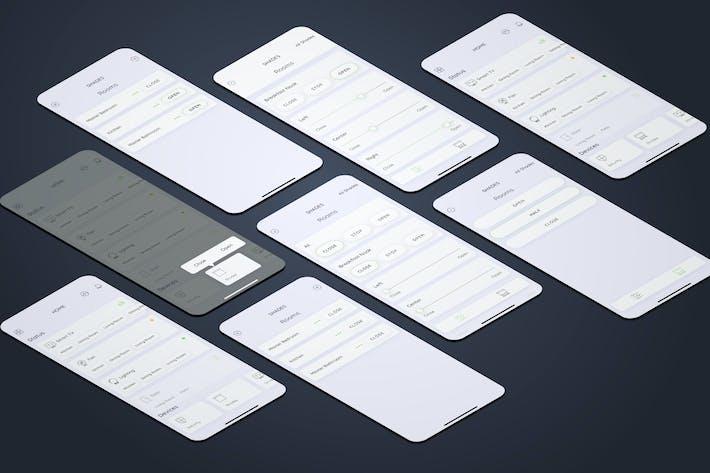 Shades Smarthome Mobile UI - FP